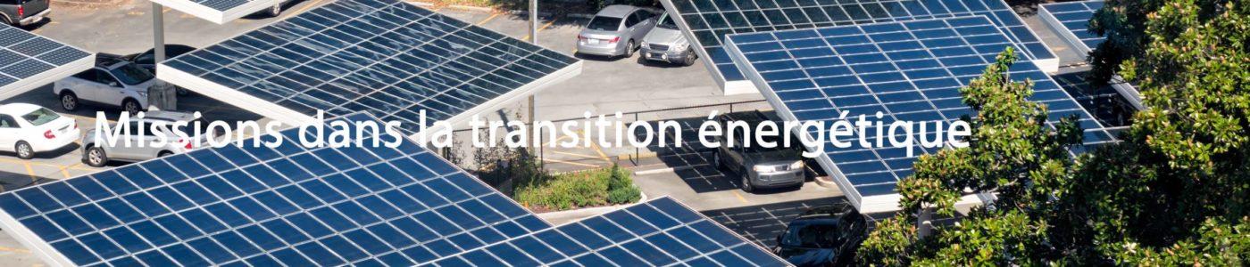 Management de transition dans la transition bas carbone - Mobilité électrique, Batterie, Energie